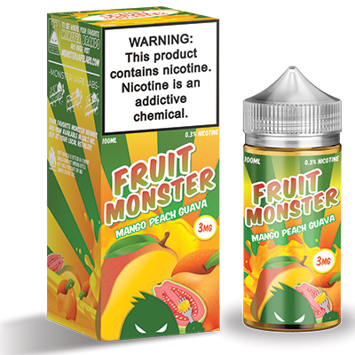International - Fruit Monster Mango Peach Guava 3mg 100ml