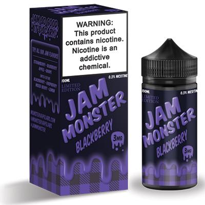 International - Jam Monster Blackberry 3mg 100ml