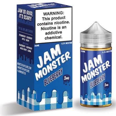 International - Jam Monster Blueberry 3mg 100ml