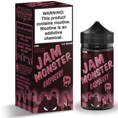 International - Jam Monster Raspberry 3mg 100ml - Limited Edition