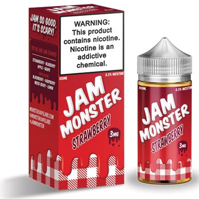 International - Jam Monster Strawberry 3mg 100ml