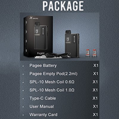 Nevoks-Pagee-Pod-Kit-package-Includes