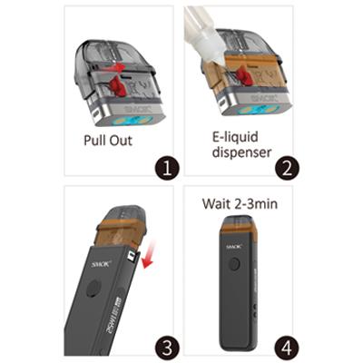 Smok-Acro-Pod-Kit-E-Liquid-Filling