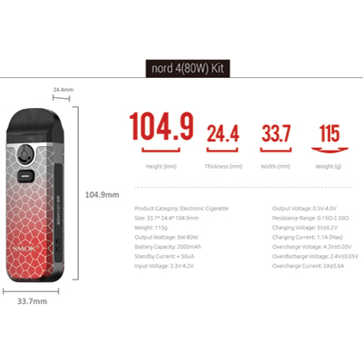 Smok-Nord-4-Patented-Colours-Specifications