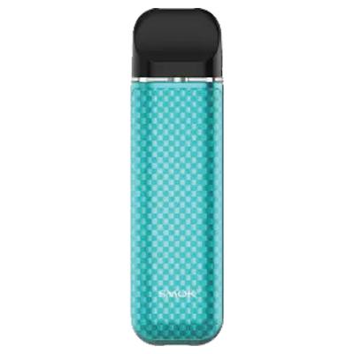 Smok Novo 2 Pod System - Tiffany Blue Carbon Fiber