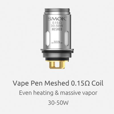 Smok-Vape-Pen-22-Mesh-Coil---0.15ohm-1