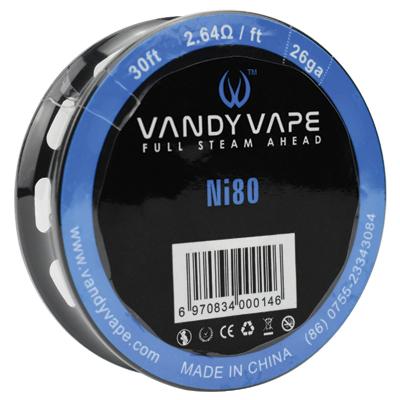 Vandy Vape Ni80 26G 30ft