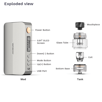 Vaporesso-Gen-X-Kit---Exploded-View
