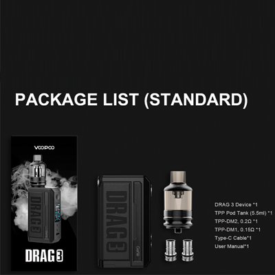Voopoo-Drag-3-Packing-List