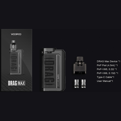 Voopoo-Drag-Max-Kit-Packing-List