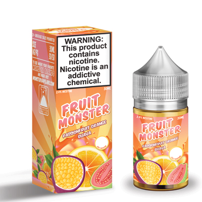 International - Fruit Monster Passion Fruit Orange Guava Salts 30ml