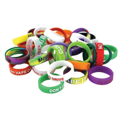 Vape Bands - Colour Sayings Assorted