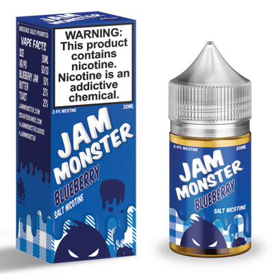 International - Jam Monster Blueberry Salts 30ml