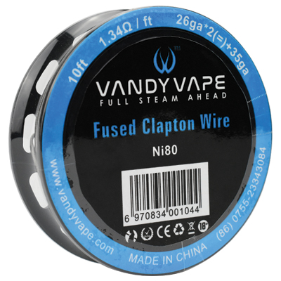 Vandy Vape Ni80 Fused Clapton Wire 26G/35G 10ft