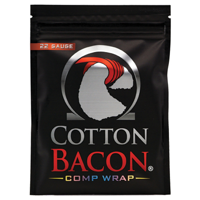 Cotton Bacon Comp Wrap 22G 1 x 1