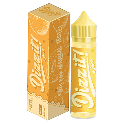 International - Nasty Dizzit Dessert Range - Donut Caramel 3mg 60ml