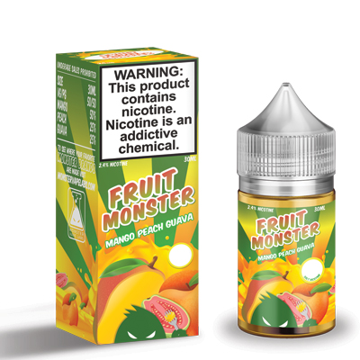 International - Fruit Monster Mango Peach Guava Salts 30ml