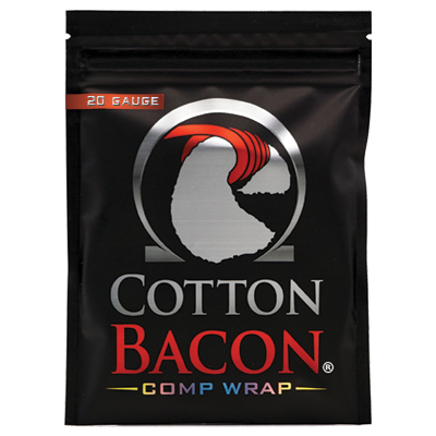 Cotton Bacon Comp Wrap 20G 1 x 1