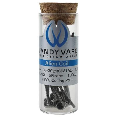 Vandy Vape Pre-Built Alien 26G/30G - 0.28ohm