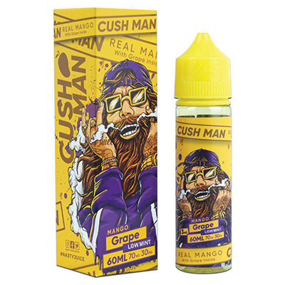 International - Nasty Cushman Series - Mango Grape 0mg 60ml - Low Mint