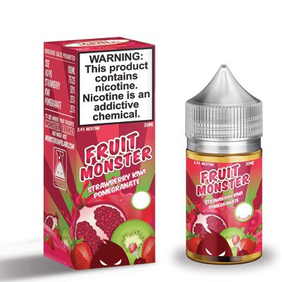 International - Fruit Monster Strawberry Kiwi Pomegranate Salts 30ml