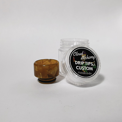 Cloud Alchemy Custom Drip Tip 810 - Copper & Gold (O-RING)