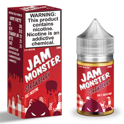 International - Jam Monster Strawberry Salts 30ml