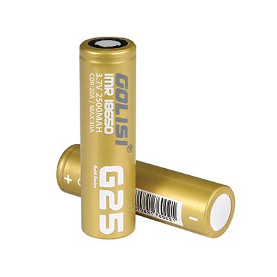Golisi G25 18650 - 2 Pack