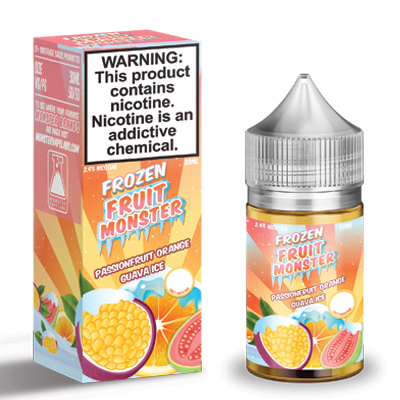 International - Frozen Fruit Monster Passion Fruit Orange Guava Salts 30ml