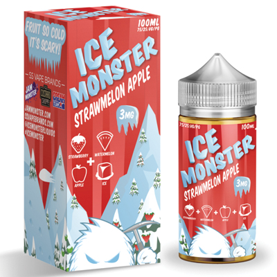 International - Ice Monster StrawMelon Apple 3mg 100ml