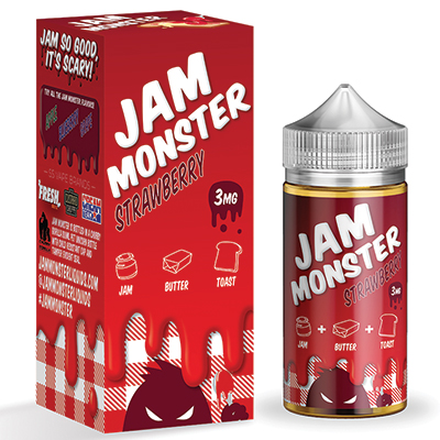 International - Jam Monster Strawberry 3mg 100ml