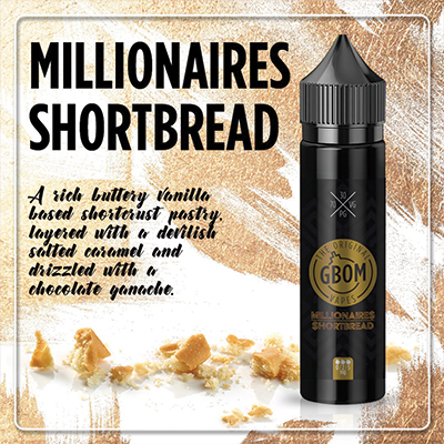 Local - GBOM Millionaires Shortbread 0mg 120ml