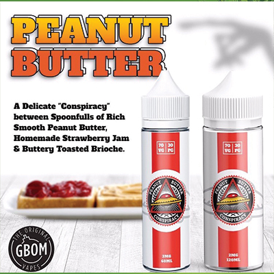 Local - Conspiracy Peanut Butter 5mg 120ml