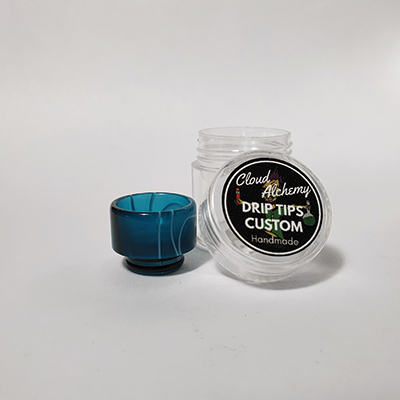 Cloud Alchemy Custom Drip Tip 810 - Breaking Waves (O-RING)