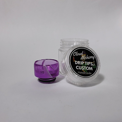 Cloud Alchemy Custom Drip Tip 810 - Blushing Orchard (O-RING)