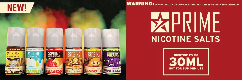 Prime Nicotine Salts
